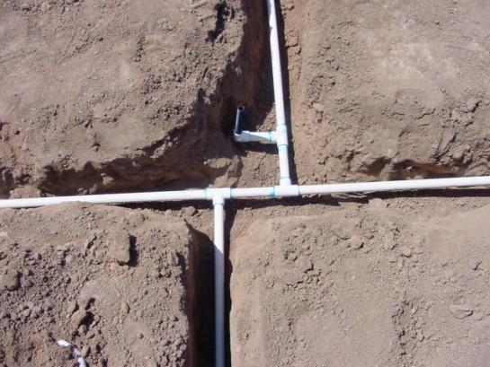 Вариант летнего водопровода