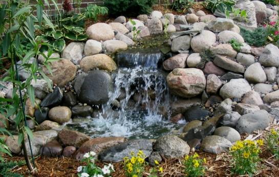 Водопад - многоуровневое сооружение