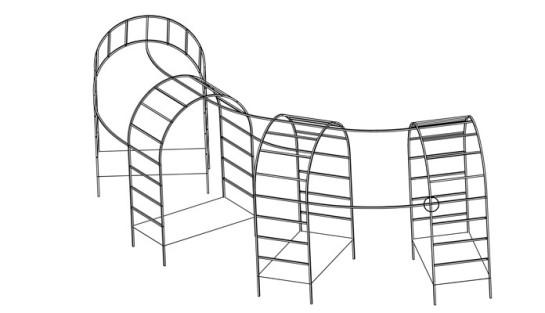 Тоннель из арок