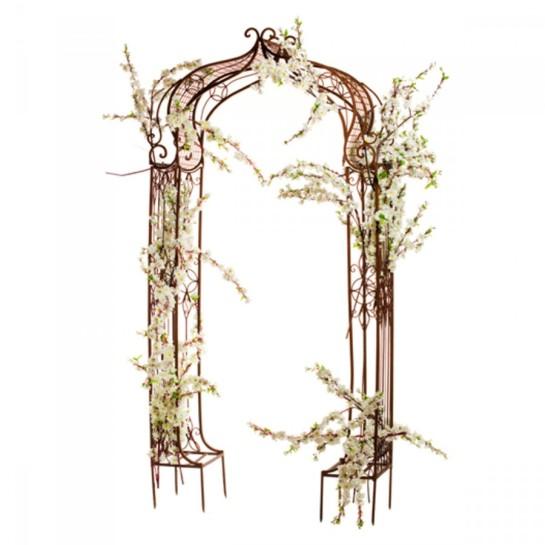 Металлическая садовая арка
