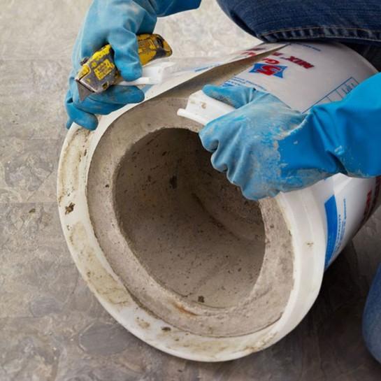 Делаем бетонный вазон своими руками