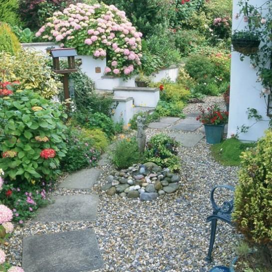 декорирование гравийного сада