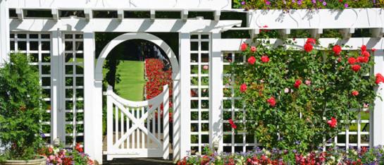 Забор в английском стиле