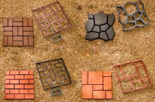 формы для дорожек из бетона