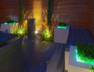 Архитектурное освещение участка