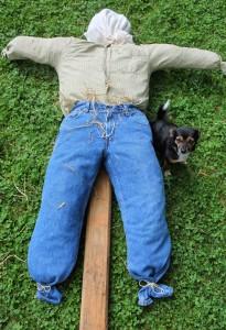ноги для пугала огородного своими руками