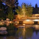 Внешнее освещение басейна