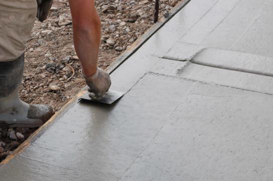 бетонирование дорожек своими руками