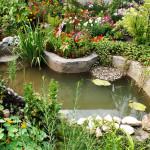 Искусственный водоём на загородном участке