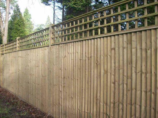 забор своими руками из дерева